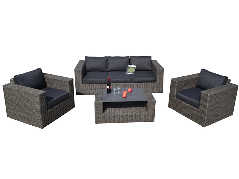 Modern furniture rattan sofa set
