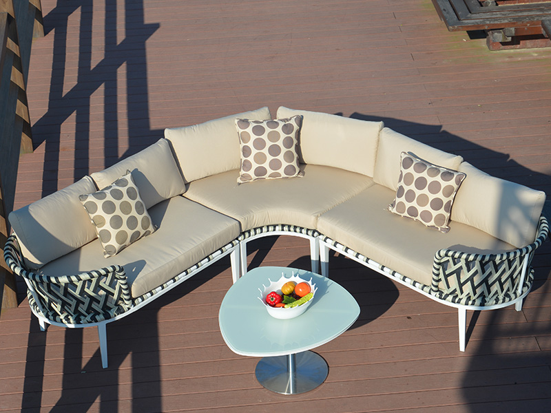 Rattan sofa set furniture