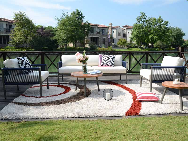 Luxury garden sofa set